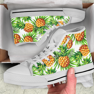 Pineapple Women's High Top Sneakers