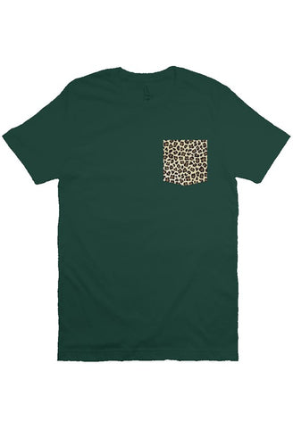 Leopard Pocket T-shirt