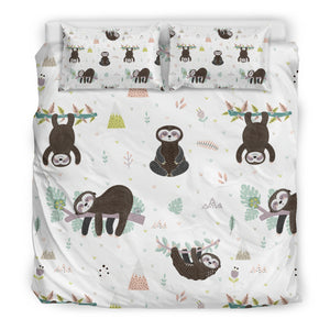 Sloth Duvet Cover Set