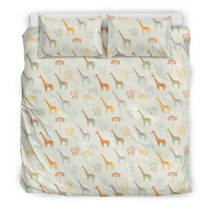 Giraffe Duvet Cover Set