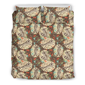 Raccoon Duvet Cover Set