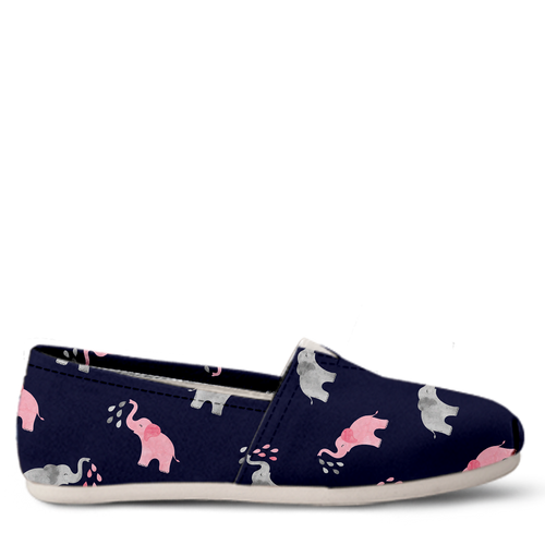 Elephant Women's Slip-On Shoes