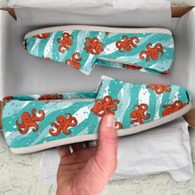 Octopus Women's Slip-On Shoes