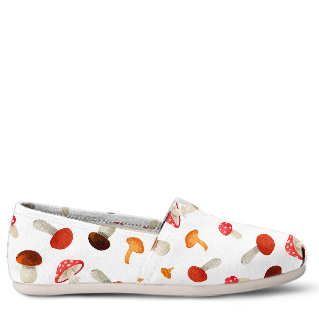 Mushroom Women's Slip-On Shoes