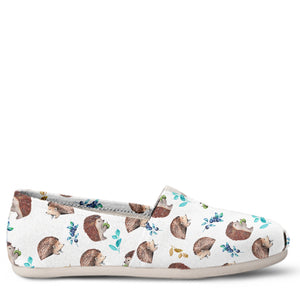 Hedgehog Women's Slip-On Shoes