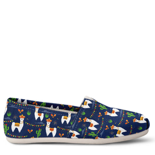 Llama Women's Slip-On Shoes