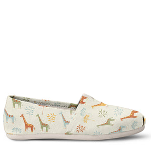 Giraffe Women's Slip-On Shoes