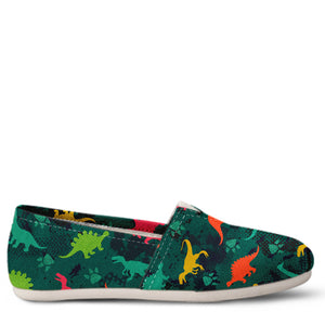 Dinosaur Women's Slip-On Shoes