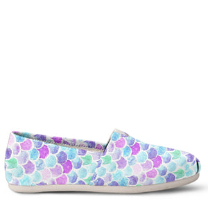 Mermaid Women's Slip-On Shoes