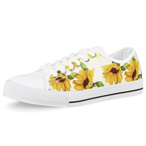 Sunflower Low Top Canvas Sneakers
