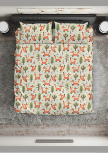 Fox Duvet Cover Set