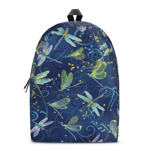 Dragonfly Backpack All Over Print Cotton Backpack
