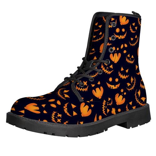 Halloween Leather Boots