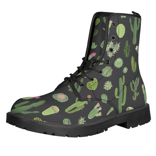 Cactus Leather Boots