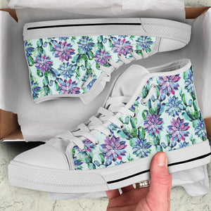 Succulent Women's High Top Sneakers