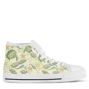 Turtle Women's High Top Sneakers