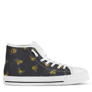 Bee Women's High Top Sneakers