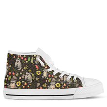 Raccoon Women's High Top Sneakers