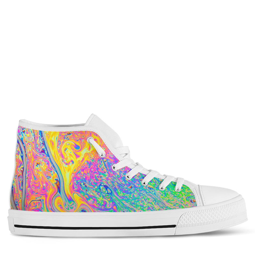 Psychedelic Women's High Top Sneakers