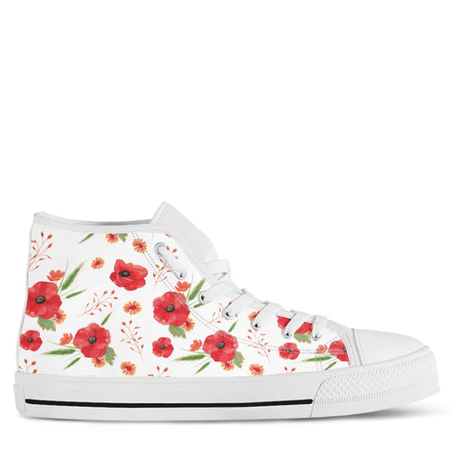 Poppy Women's High Top Sneakers