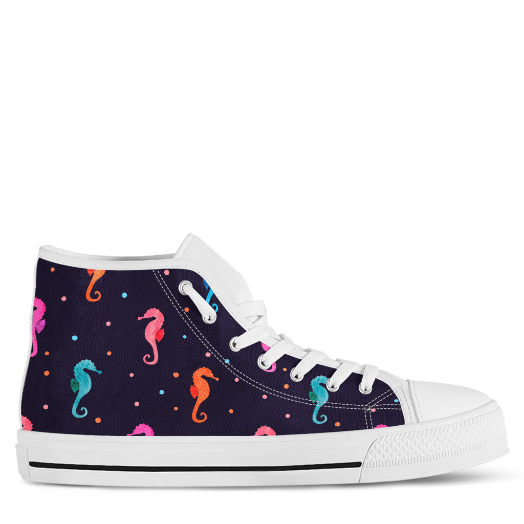 Seahorse Women's High Top Sneakers