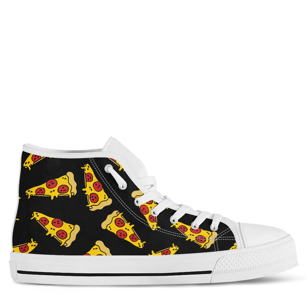 Pizza Women's High Top Sneakers