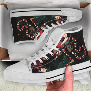 Snake Women's High Top Sneakers