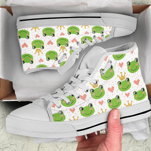 Frog Women's High Top Sneakers