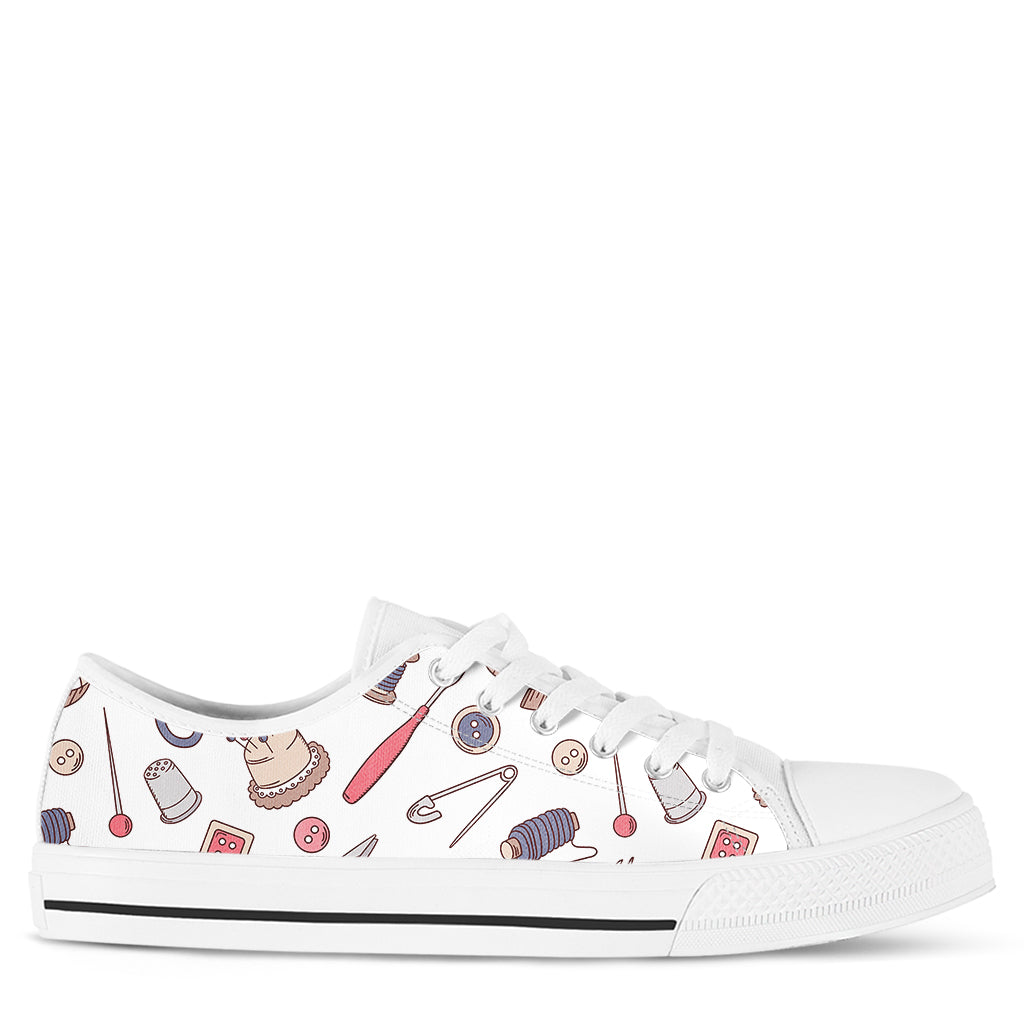Sewing Lover Women's Sneakers
