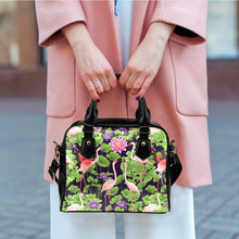 Flamingo Leather Handbag