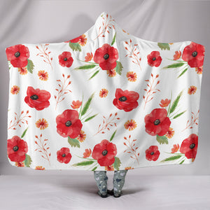 Poppy Hooded Blanket