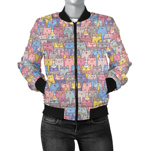 Cat Women's Bomber Jacket