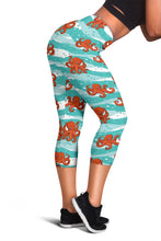 Octopus Capri Leggings
