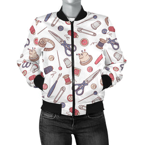 Sewing Lover Women's Bomber Jacket