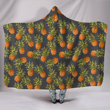 Pineapple Hooded Blanket