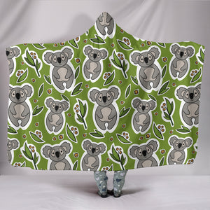 Koala Hooded Blanket