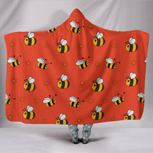 Bee Hooded Blanket