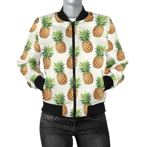 Pineapple Women's Bomber Jacket