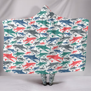 Shark Hooded Blanket