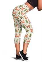 Fox Capri Leggings