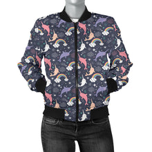 Narwhal Women's Bomber Jacket