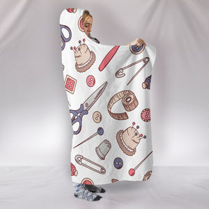 Sewing Lover Hooded Blanket