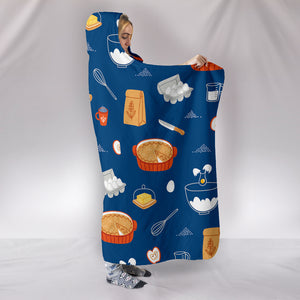 Baking Lover Hooded Blanket