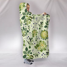 Succulent Hooded Blanket