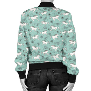 Horse Women's Bomber Jacket