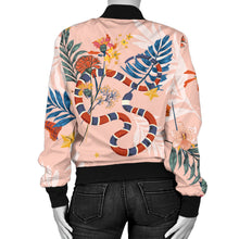 Snake Women's Bomber Jacket