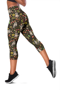 Raccoon Capri Leggings
