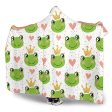 Frog Hooded Blanket