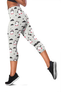 Penguin Capri Leggings