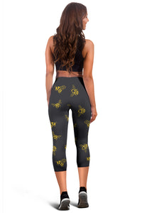 Bee Capri Leggings